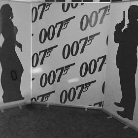007 Backdrop