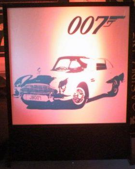Aston Martin Light Panel