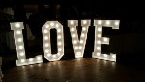 Love Illuminated Letters