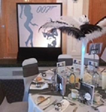 The Park Inn Hotel Bedford - James Bond Gala Dinner 3