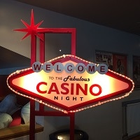 Casino Light Up Sign