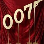 James Bond 3D 007 sculpture
