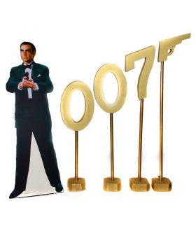 James Bond Theme Fun Casino Hire Silhouette