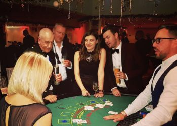 casino night jobs london