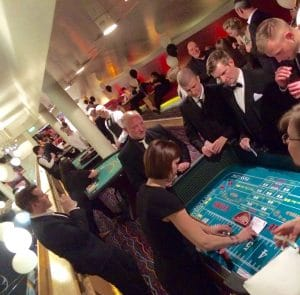 craps table fun casino hire