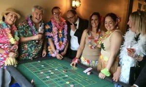 hawaii casino hire theme