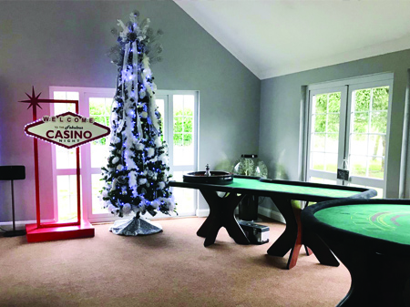 Private Christmas Party Casino Hire