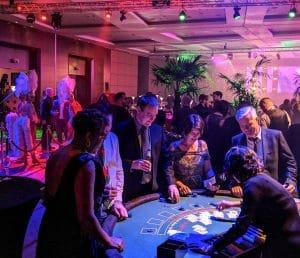 Casino Hire Tables