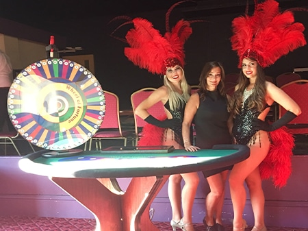 Wheel of Fortune & Vegas Show Girls