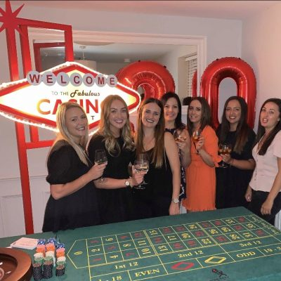 casino at home party